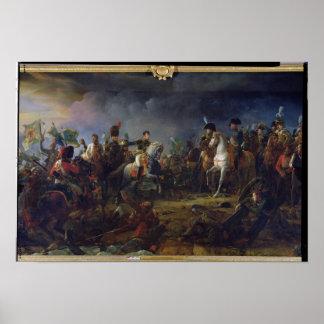 De slag van Austerlitz Poster