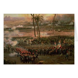 De slag van de Piramides, 21 Juli 1798, 1806 Wenskaart