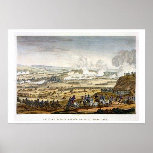 De slag van Jena, 14 Oktober 1806, door E wordt ge Poster