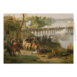 De slag van Lodi Wenskaart