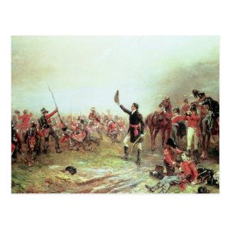 De slag van Waterloo, 18 Juni 1815 2 Briefkaart