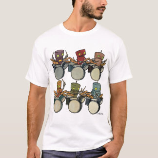 De Slagwerkers van de robot T Shirt