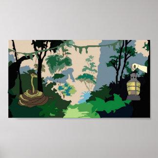 De Slang van het oerwoud Poster