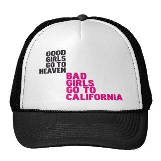 De slechte meisjes gaan naar Californië Mesh Petten