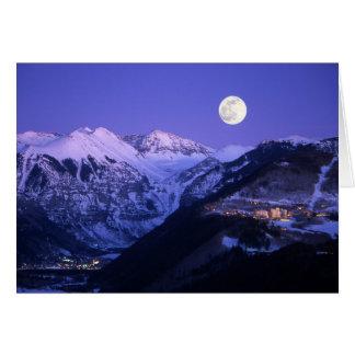 De Slechte Persoon van het telluride - Maanlicht Briefkaarten 0