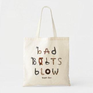 De slechte Slag van Bouten - Canvas tas