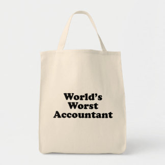 De Slechtste Accountant van de wereld Draagtas