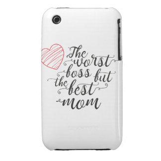 De slechtste werkgever, maar het beste mamma iPhone 3 hoesje