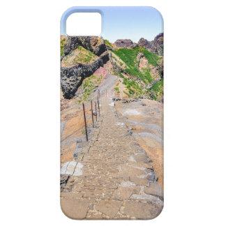 De sleep van de wandeling omhoog in bergen op barely there iPhone 5 hoesje
