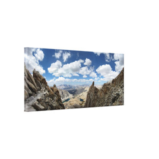 De Sleep van MT Whitney - de Sleep van John Muir Canvas Afdrukken