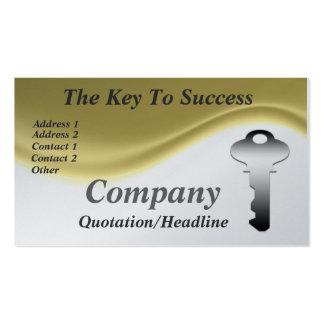 De sleutel tot de Visitekaartjes van het Succes