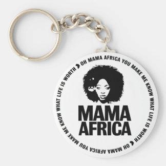 De Sleutel van Afrika van mamma's Sleutelhanger