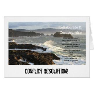 De Sleutel van de Resolutie van het conflict richt Kaart