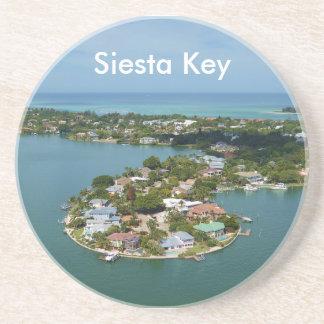 De Sleutel van de siësta, Florida Zandsteen Onderzetter