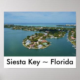 De Sleutel van de siësta, het Poster van Florida