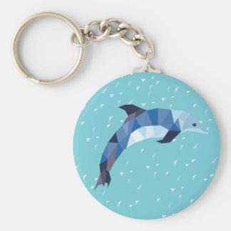 De Sleutelring van de dolfijn Sleutelhanger
