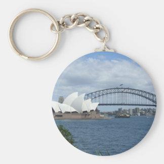 De Sleutelring van de Haven van Sydney Sleutelhanger
