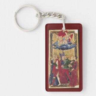 De sleutelring van het Tarot van Gringonneur Sleutelhanger