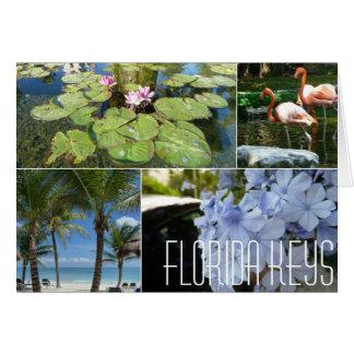 De Sleutels Notecard van Florida door Spijker Wenskaart