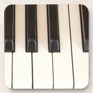 De Sleutels van de piano Bier Onderzetter