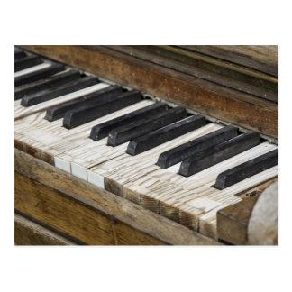 De Sleutels van de piano Briefkaart