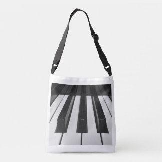 De Sleutels van de piano Crossbody Tas