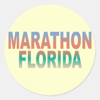 De Sleutels van Florida van de marathon Ronde Sticker