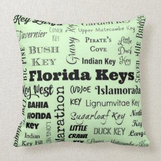 De Sleutels van Florida werpen hoofdkussen in Kussen