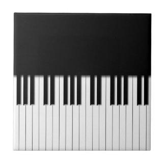 De Sleutels van het Toetsenbord van de piano Tegeltje