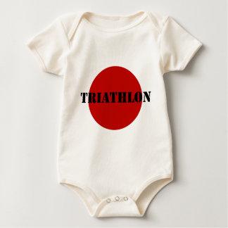 De Slijtage van Triathlon Baby Shirt