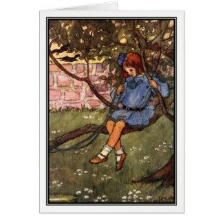 De slingerende Boeg door Florence Harrison Briefkaarten 0
