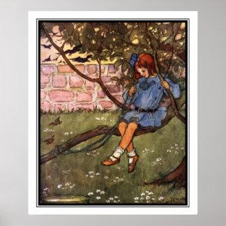 De slingerende Boeg door Florence Harrison Poster