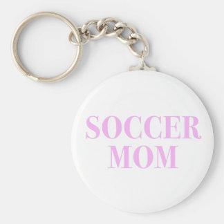 De Slogan Keychain van het Mamma van het voetbal Sleutelhanger