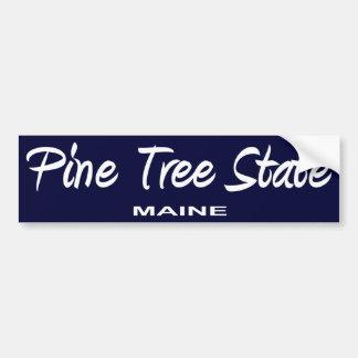 De Slogan van de Staat van Maine Bumpersticker