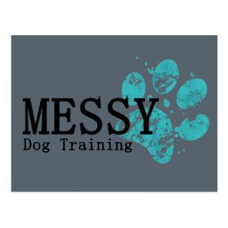 De SLORDIGE Opleiding van de Hond Briefkaart
