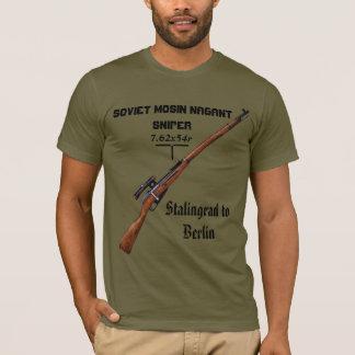 De sluipschutterOverhemd van Nagant Pu van Mosin - T Shirt