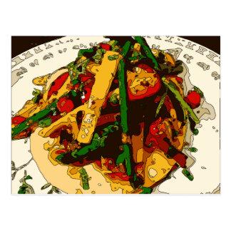 De smakelijke Veggie Schotel Saute van de Groene Briefkaart