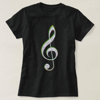 De Smaragd van de MUZIEK en de G-sleutel van de T Shirt