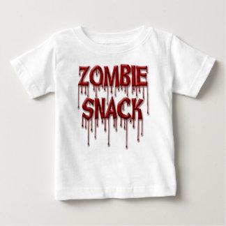 De Snack van de zombie Baby T Shirts