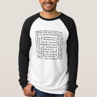 De Snaren van de gitaar T Shirt