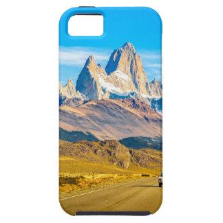 De sneeuw Bergen van de Andes, Gr Chalten, Tough iPhone 5 Hoesje