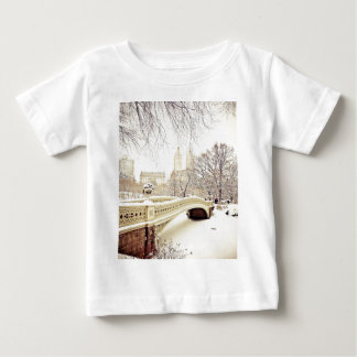 De Sneeuw van het Central Park - de Winter New T-shirts