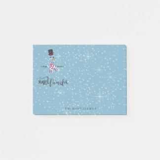 De Sneeuwman Blauwe ID440 van magische en Wonder Post-it® Notes