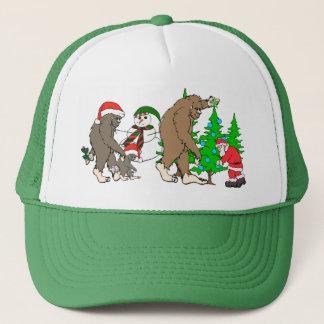 De sneeuwman van de Kerstman van Bigfoot Trucker Pet