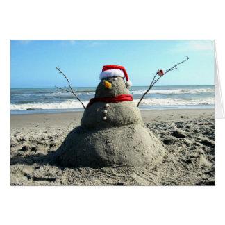De Sneeuwman van Florida (3232) - Wenskaart