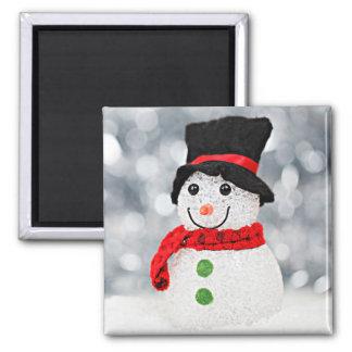 De Sneeuwman van het Sprookjesland van de winter Magneet