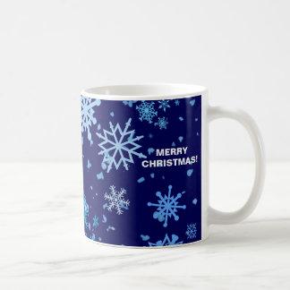 De Sneeuwval van de kerstnacht Koffiemok