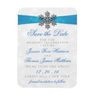 De Sneeuwvlok van Diamante & het Blauwe Huwelijk Magneet