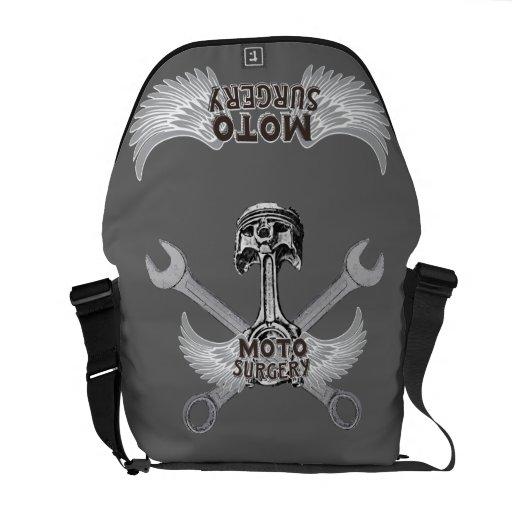 De snelheidswinkel van Moto Messenger Bag