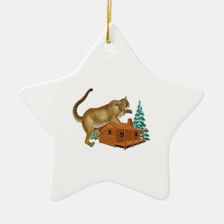 De Snelle aanval van de cabine Keramisch Ster Ornament